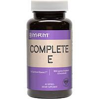 Витамин Е (полный спектр) 200 МЕ 60 капс женские витамины антиоксиданты для кожи волос MRM USA