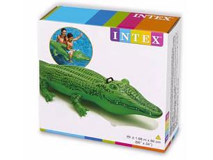 """Надувной плот Intex, 58546 """"Крокодил"""" (168*86 см), фото 2"""