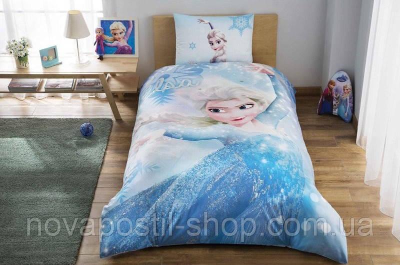 TAC Disney Frozen Glitter, комплект детского постельного белья подростковый