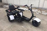 Электро скутер с коляской 3 места,1000W., фото 1
