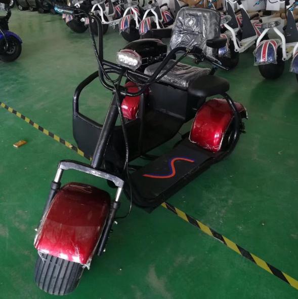 электро скутер с коляской