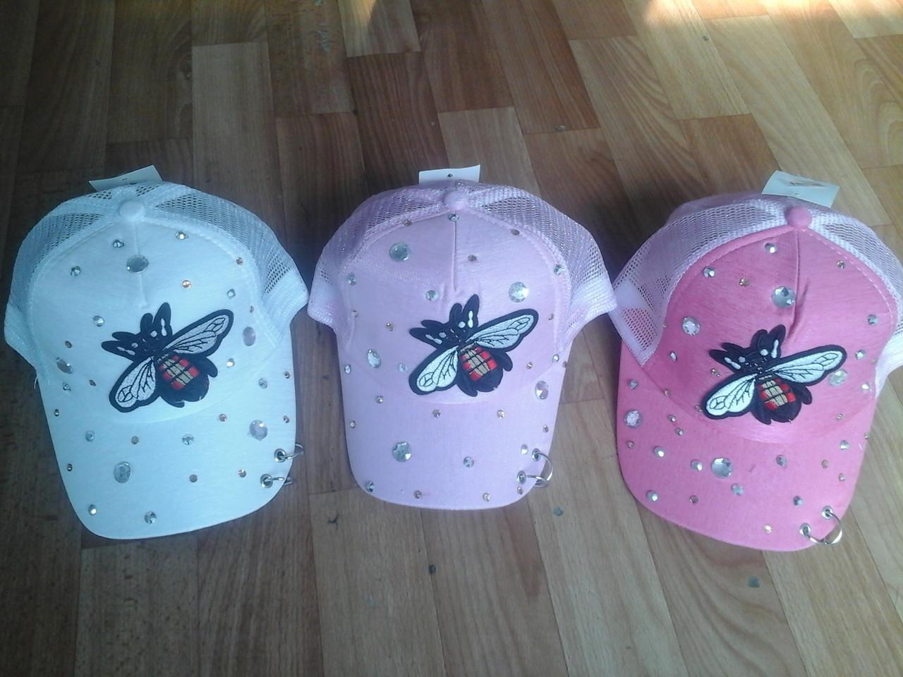 Кепочка для девочки муха