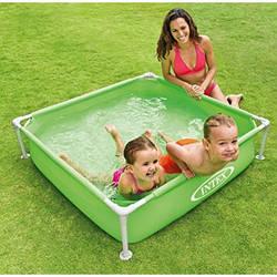 Детский каркасный бассейн Intex 57172 размеры 122х122х30 см