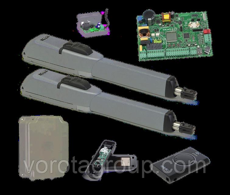 Автоматика FAAC 415 LS (24В) створка 2,5 до 3 м для распашных ворот (комплект)