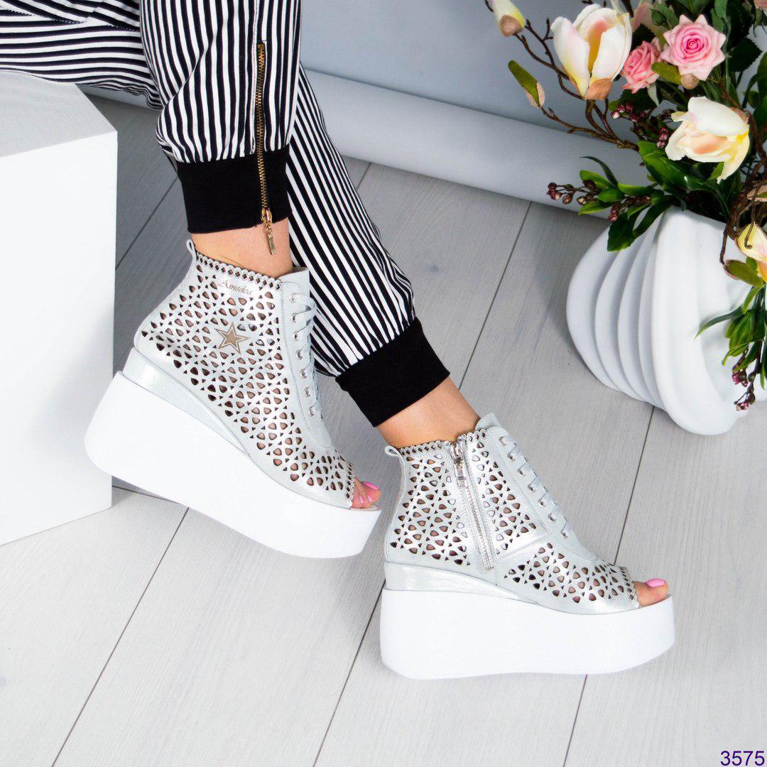 Женские летние ботинки новые фото