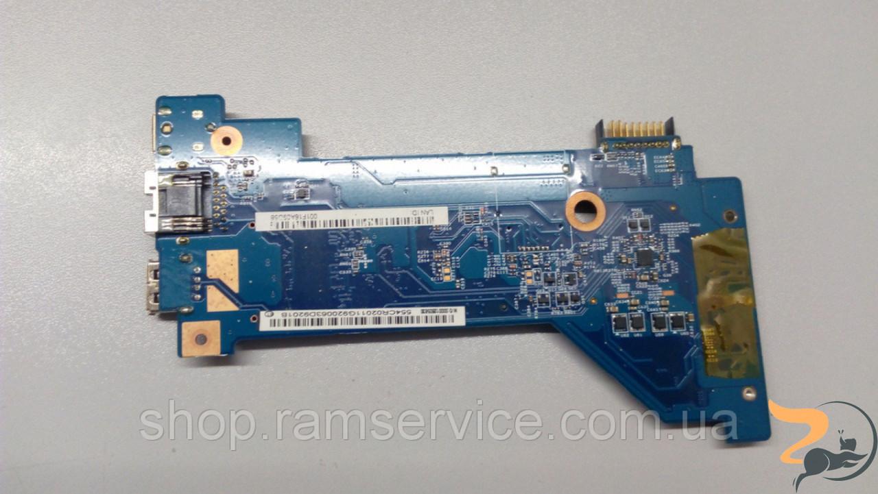 Додаткова плата для ноутбука Acer Aspire 5810T, з роз'ємами живлення, usb, wlan, б/в