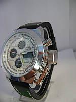 Мужские Наручные электронно-кварцевые Часы Amst на ремешке