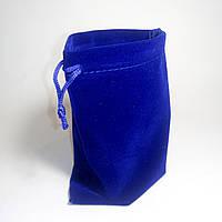 Чехол бархатный для кубика Рубика (цвет синий), фото 1
