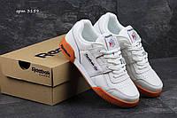 Мужские кроссовки Reebok Workout Classic белые 3159