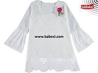 Нарядное летнее платье-туника для девочки 12 лет!Турция!Нарядне туніка на дівчинку 12 років