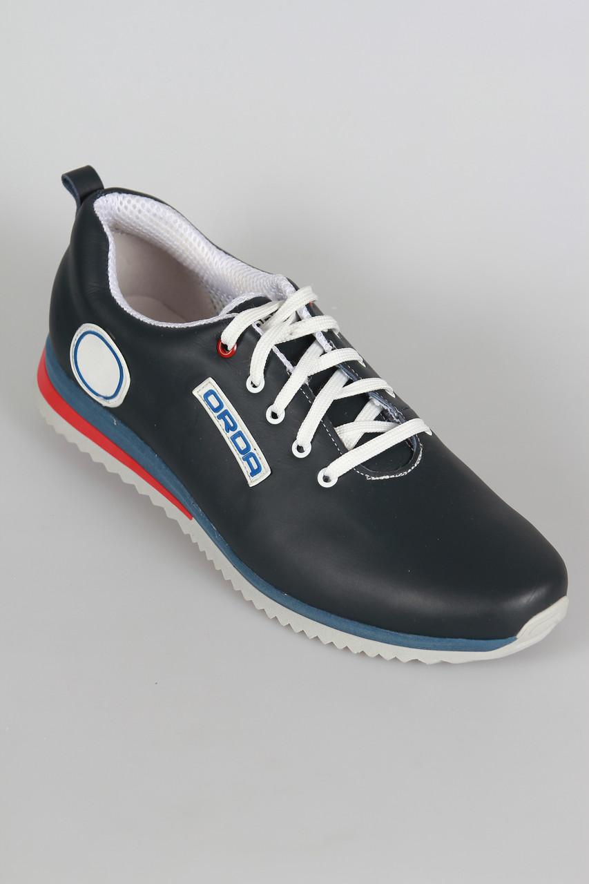 Мужские кожаные кроссовки от производителя