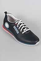 Мужские кожаные кроссовки от производителя, фото 1