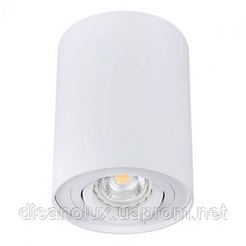 Светильник  светодиодный LED Downlight накладной  поворотный  TD-001 GU10  220V  белый