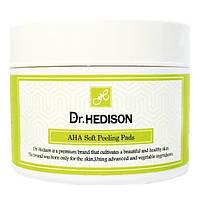 Очищающие диски с АХА кислотами Dr.Hedison, AXA Soft Peeling pads, 70шт.