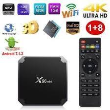 ТВ-приставка X96 mini (1/8 ГБ) 4-ядерная на Android 7.1.2