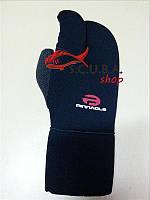Перчатки 3-х палые Pinnacle Spearfishing Kevlar Gloves 7mm, фото 1