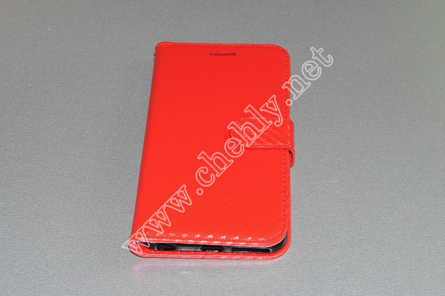 Чехол книжка тканевый на силиконе с подставкой iPhone 6 Plus