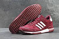 Кроссовки Adidas ZX 750 бордовые 3944