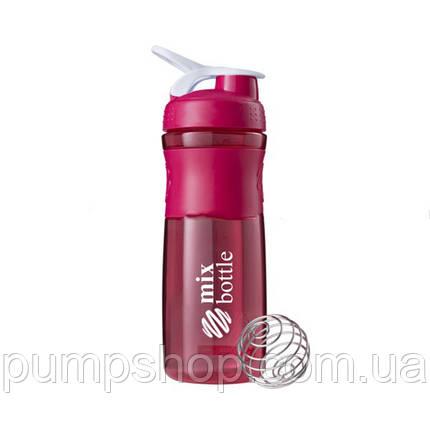 Шейкер Mix Bottle Shaker Mix - 760 мл розовый, фото 2