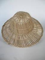 Шляпа взрослая целостная (Из соломы)