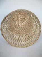 Шляпа взрослая ажурная (Из соломы)