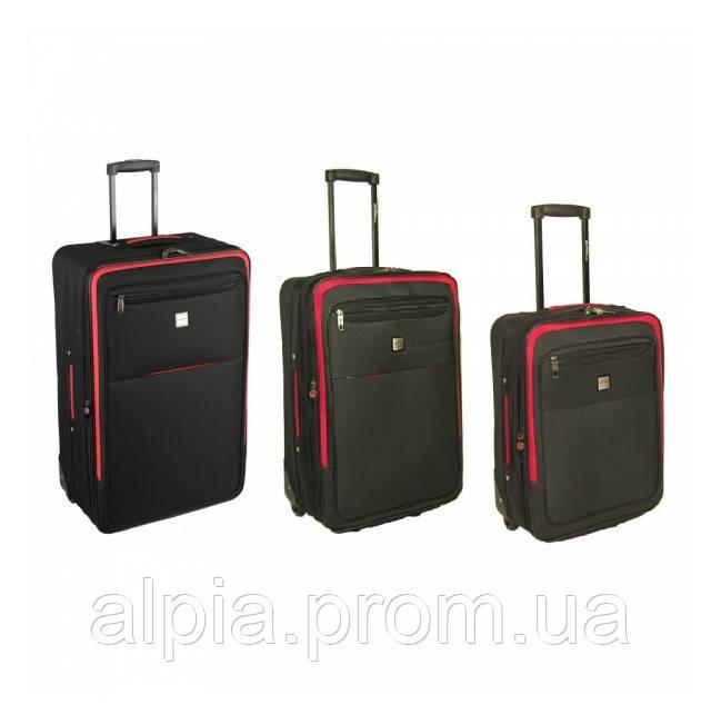 Комплект чемоданов Skyflite Transit Black (S/M/L) 3 шт.