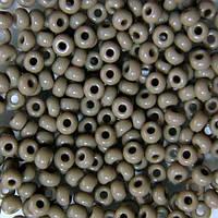 Чешский бисер для рукоделия Preciosa (Прециоза) оригинал 50г 31119-43020-10 серый