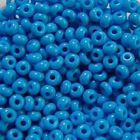 Чешский бисер для рукоделия Preciosa (Прециоза) оригинал 50г 31119-63050-10 голубой