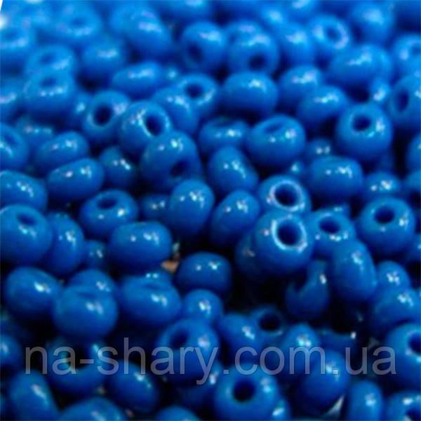 Чешский бисер для рукоделия Preciosa (Прециоза) оригинал 50г 31119-33210-10 синий