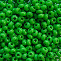 Чешский бисер для рукоделия Preciosa (Прециоза) оригинал 50г 31119-53230-10 зеленый