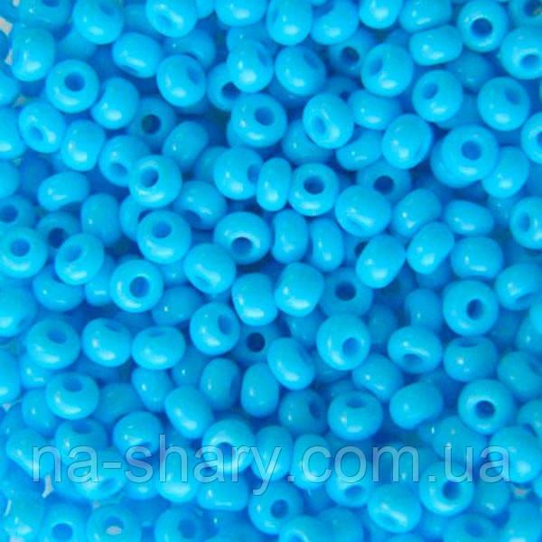 Чешский бисер для рукоделия Preciosa (Прециоза) оригинал 50г 31119-63020-10 голубой
