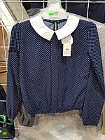 Школьная блуза  для девочки оптом.Польша.