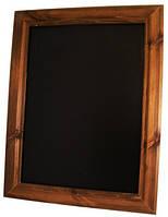 Деревянная доска для кафе и ресторанов 75х50х3 см