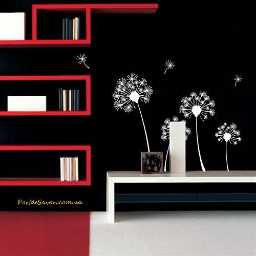 Декоративная виниловая наклейка Dandelions