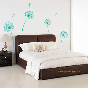 Декоративная виниловая наклейка Dandelions , фото 2