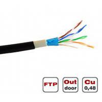Витая пара Dialan FTP Cat.5E 4PR Cu (200 МГц) PE Outdoor 305 м
