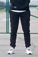 Чёрные штаны PEEK на флисе