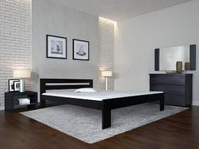 """Двоспальне ліжко """"Талія"""" з дерева (масив бука)"""
