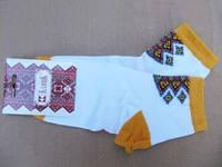 Вышитые носки Подсолнух (Носки с вышивкой)