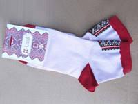 Вышитые носки Красная шапочка (Носки с вышивкой)