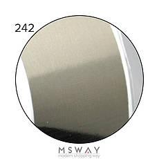 KATTi Фольга переводная NFS 242 metalic серебро (серо оливковая) 25см, фото 3