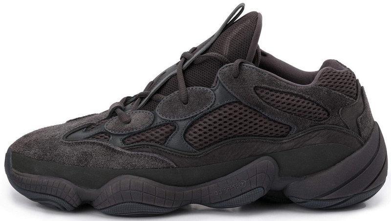 """Женскиекроссовки adidas Yeezy 500 Utility """"Black"""" (Адидас Изи) черные"""