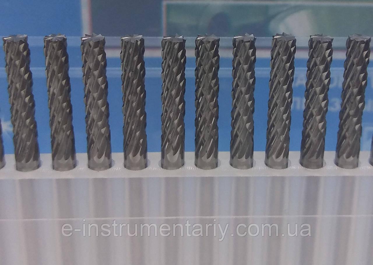 Борфреза цилиндрическая (AEX) 3х15х3 твердосплавная
