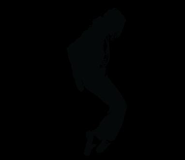 Декоративная виниловая наклейка Майкл Джексон