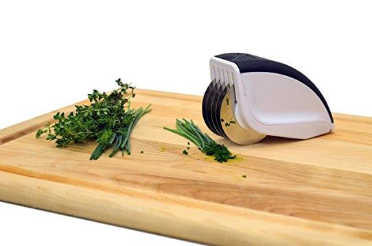 Нож для нарезки 3 в 1 Rolling Mincer и Tenderizer с чесночным прессом