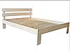 """Двуспальная кровать """"Вікторія"""" из дерева (массив бука), фото 2"""
