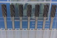 Борфреза цилиндрическая (AEX) 5х15х3 твердосплавная