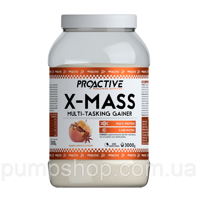 Гейнер ProActive X-MASS 3000 г