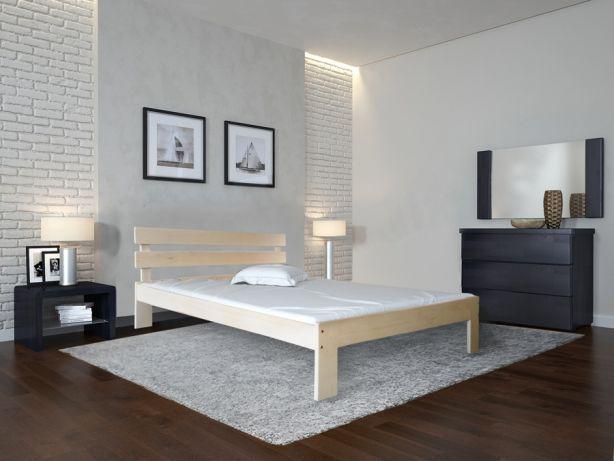 "Двуспальная кровать ""Вікторія"" из дерева (массив бука)"