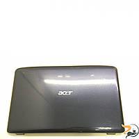 """Кришка матриці корпуса для ноутбука Acer Aspire 5542G, 15.6"""", WIS604FN01001, Б/В. Всі кріплення цілі. Присутні потертості на кутах."""